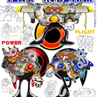 Team design for a Sonic Heroes contest on DeviantArt. I came second!