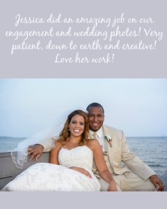 Hall Wedding Testimonial_Sunset Beach Wedding_Coral wedding colors_tan suit_lace dress_Community center
