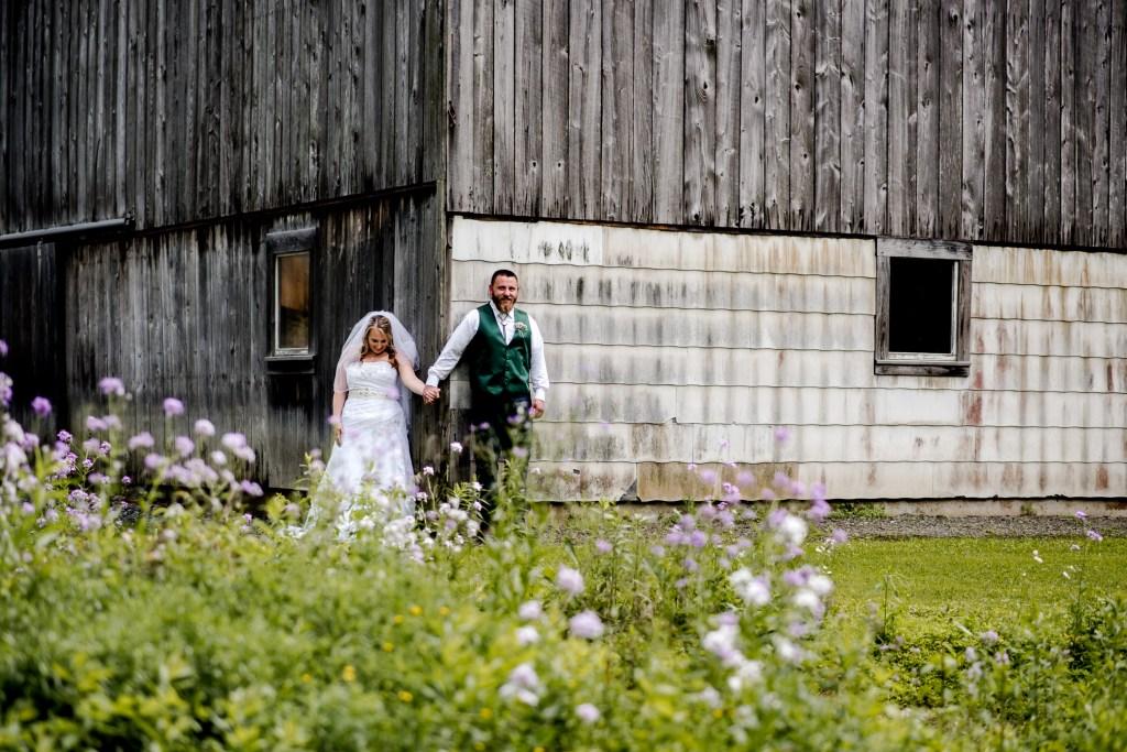 First Look No Look, Wedding Photographer, Barn Wedding