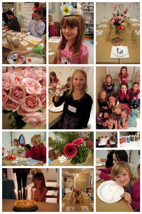 Fairy Art Party, Painting birthday party, art birthday
