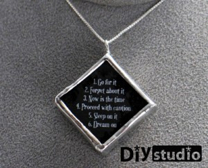 necklace by Jessica Ramey, DIY Studio