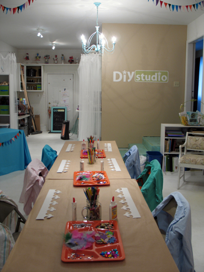 Salem Oregon Child's party, birthday party, DIY Studio