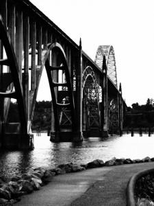 Newport, Oregon, Yaquina bridge
