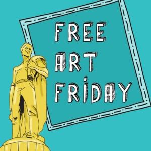 Free art Friday, salem oregon