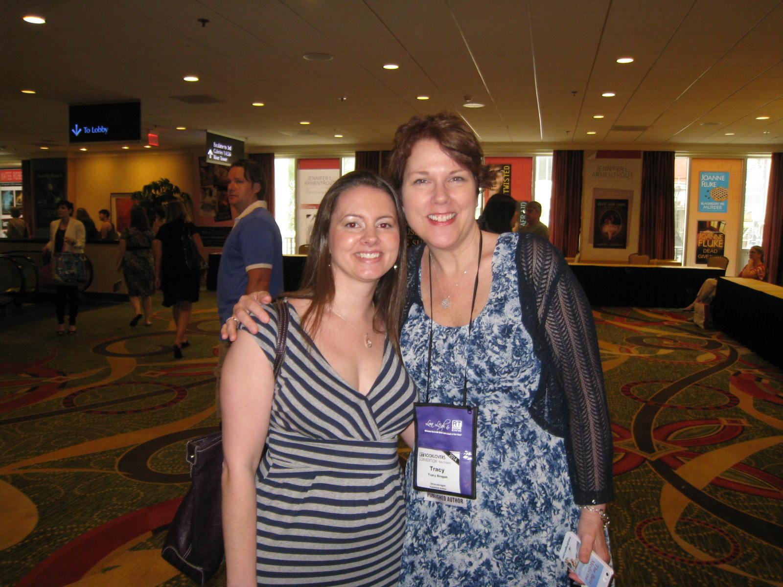 Jessica & Tracy Brogan