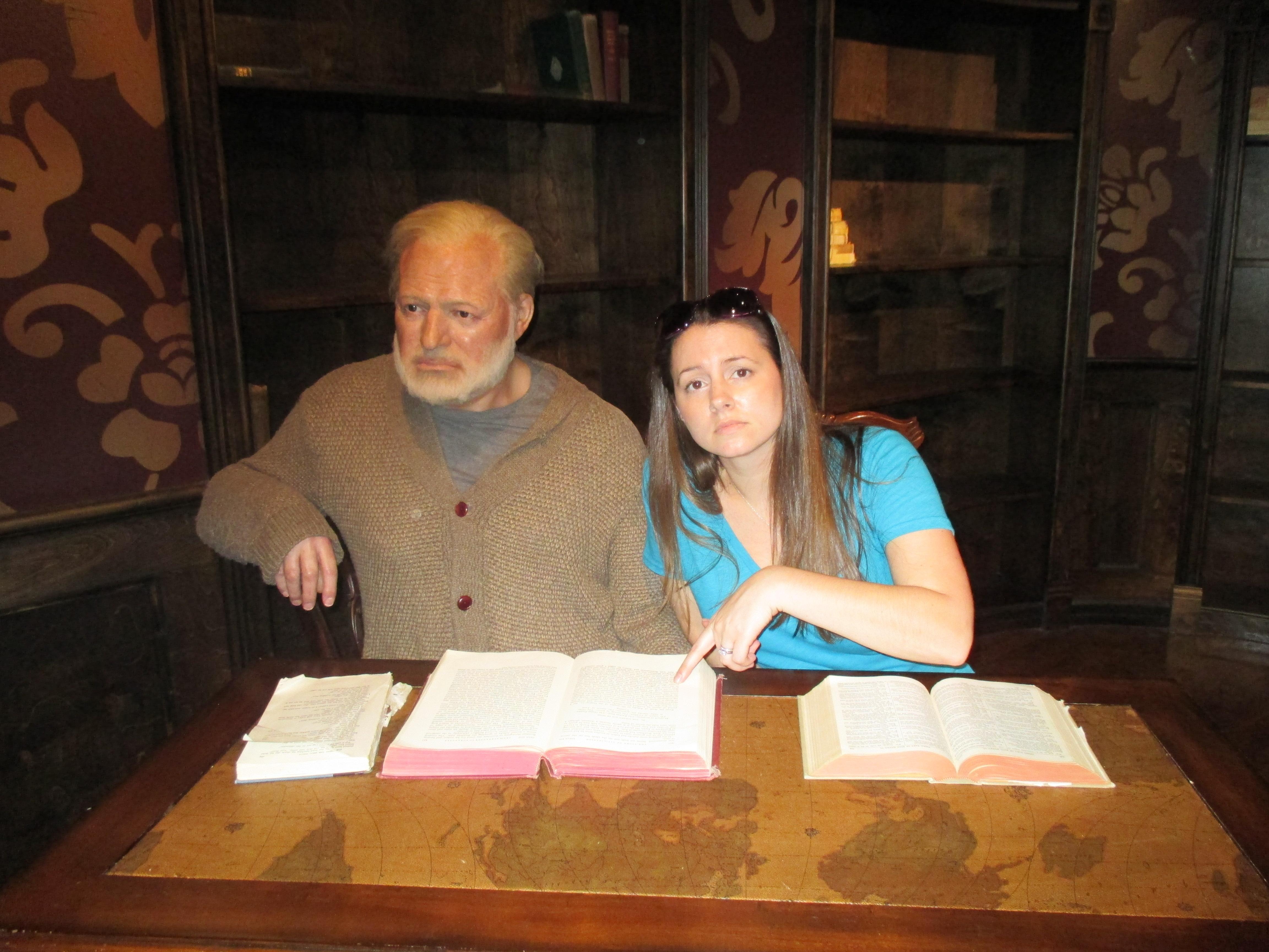 Jessica & Wax Ernest Hemingway