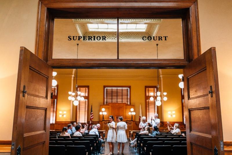 Old Orange County Courthouse Elopement  Amanda  Atalia