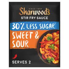 Sharwood's 30% Less Sugar Sweet & Sour Stir Fry Sauce - ASDA Groceries