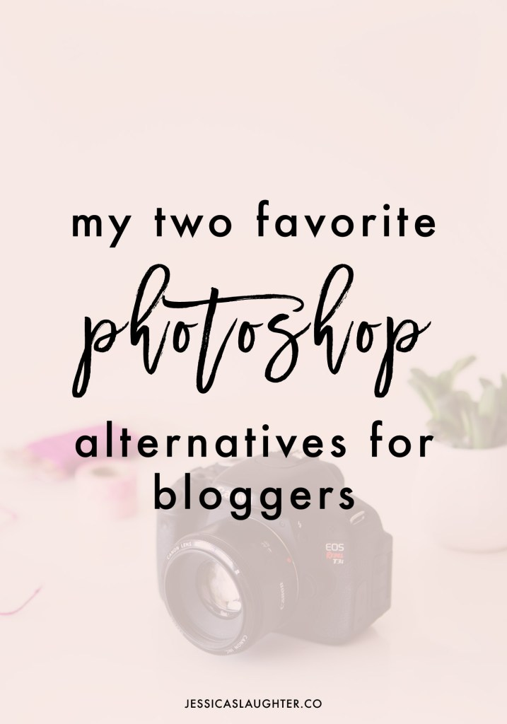 2 Free Alternatives To Photoshop For Bloggers
