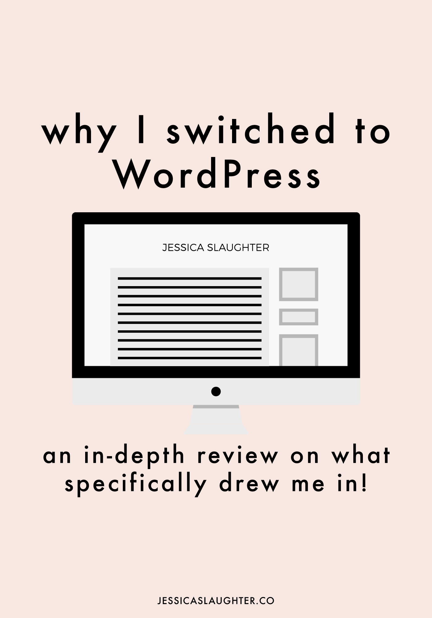 An in-depth review on why I made the switch from Blogger to WordPress.