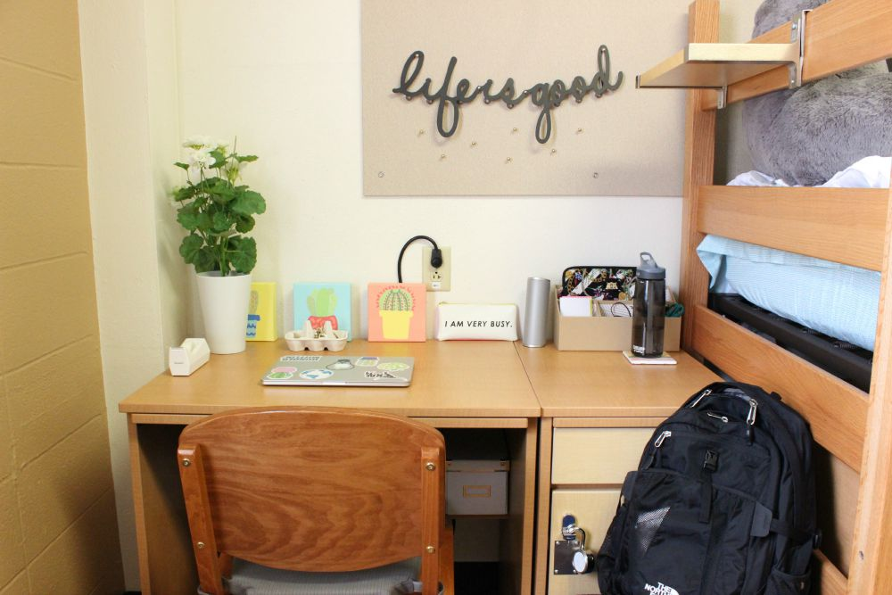 My College Dorm Room Tour Jessica Slaughter