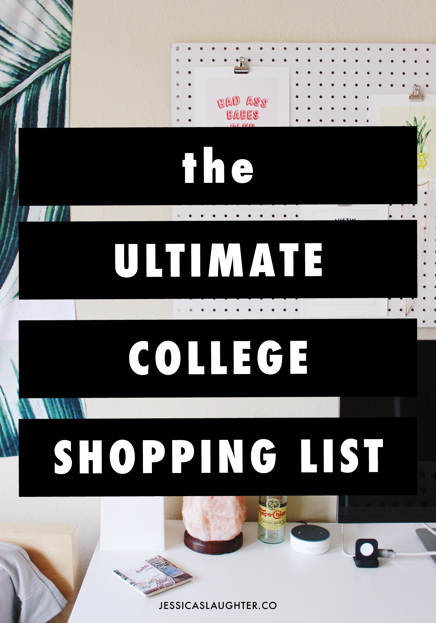 the ultimate college shopping list jessica slaughter