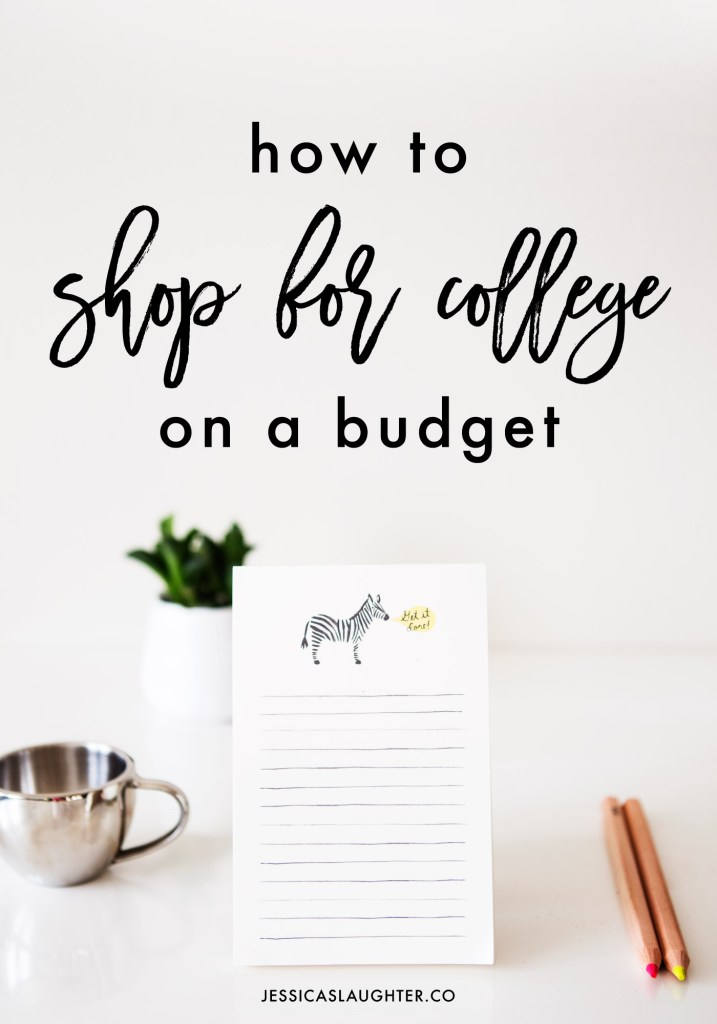 I'm sharing my go-to tricks for saving money and getting discounts when shopping for all things college!