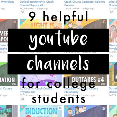 Helpful YouTube Channels For College Students