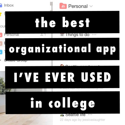 The Best Organizational App I've Ever Used In College