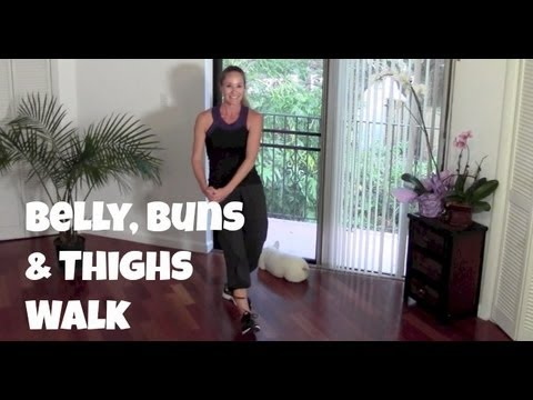 multi gym chair steel in construction 40-minute belly, buns and thighs walk – jessica smith tv