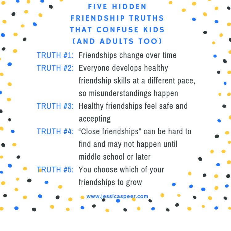Five Hidden Friendship Truths That Confuse Kids