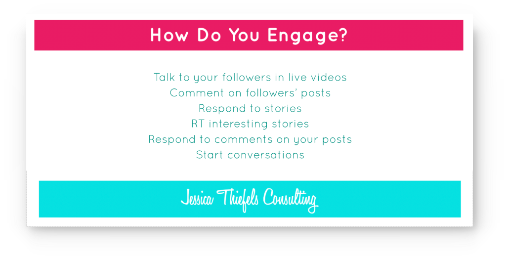 engage with your audience