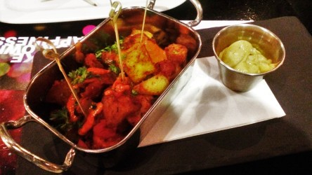 Patatas Bravas are always the first thing I order at a tapas bar. The ones at 56 Central are amazing.