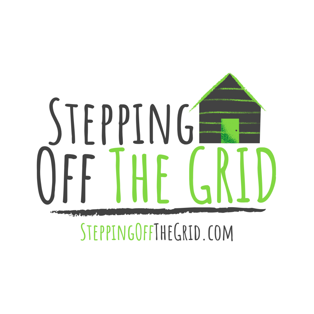 Stepping Off The Grid WordPress Website Blog by Jessica Tucker Creatives Logo Image