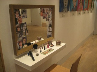 Installation View, make-up