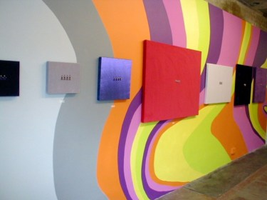 The Beatles (1960-1970), installation view, Beep Beep Toot Toot Yeah, 1,000,000mph Project Space, London, 2004