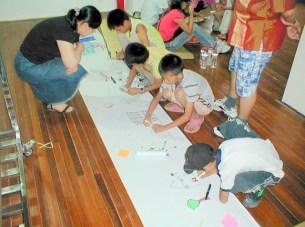 The Family Art Project, Li Min School (creating a new city), Island 6, Shanghai, 2006