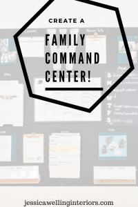 photo of family command center