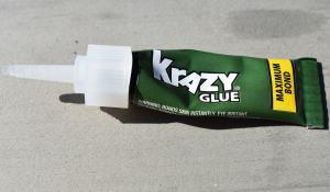 photo of Krazy Glue tube