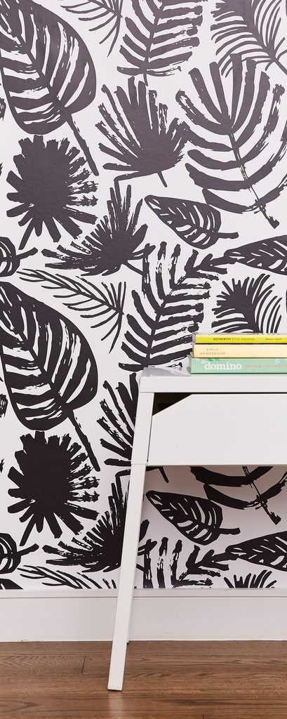 Wallpaper is back! I'll show you how to use it on accent walls and small projects to make a big impact in your home!