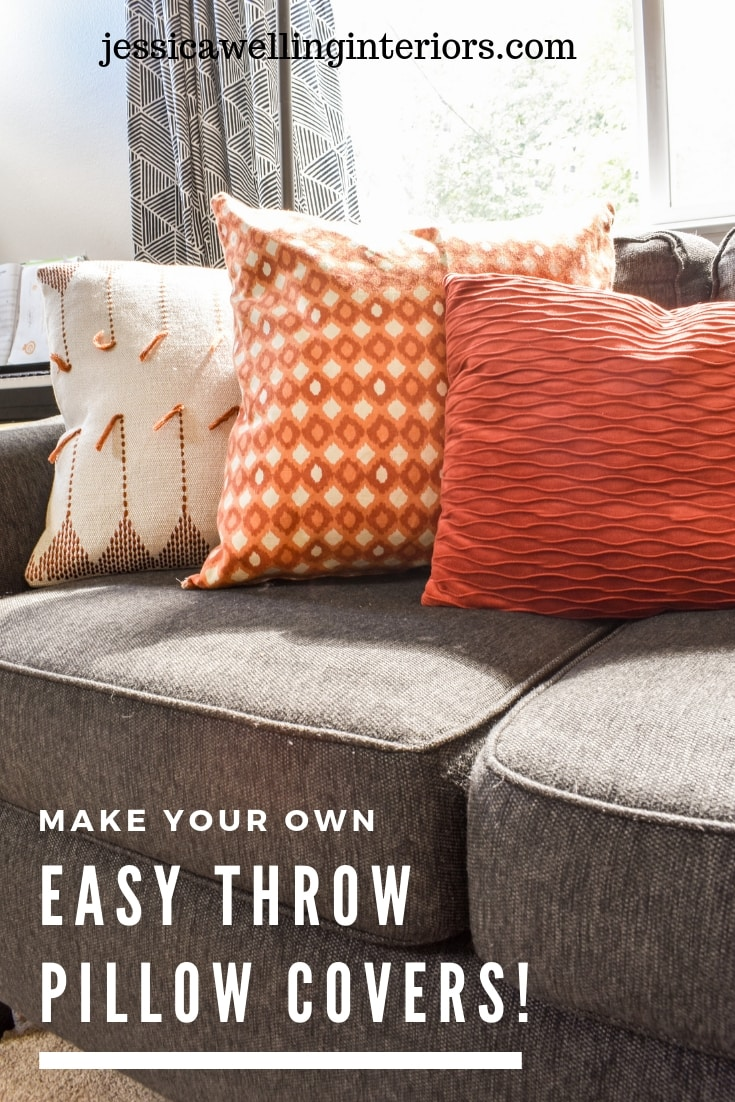 photo of Fall DIY throw pillow covers