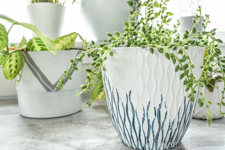 image of modern indoor planters