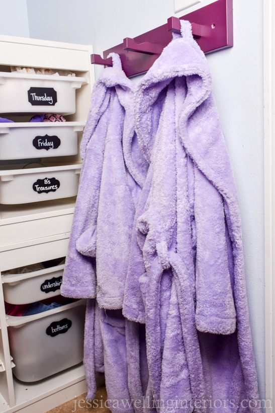 Kids Room Organization Hack Modern Coat Hooks Jessica Welling Interiors