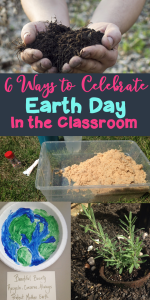 6 Ways to celebrate Earth Day in the classroom! My kids loved these lessons and learned about ways to protect the planet.