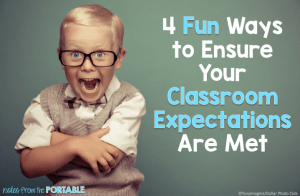 4 Fun Ways to Ensure Your Classroom Expectations are Met! Games, assessments, and more fun FREEBIES