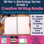 Creative Writing Bundle - Grade 2: Poetry, Fiction, Personal Narrative
