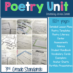 3rd grade poetry unit