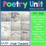 4th/5th Grade Poetry Unit