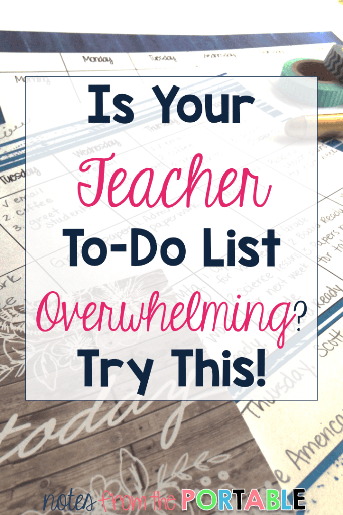 Such a simple way to get organized. Spent too much time all over the place trying to keep up in my classroom. This planner tip has saved me tons of time and sanity