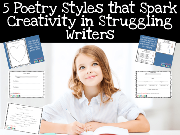 5 Poetry Styles to Engage Writers