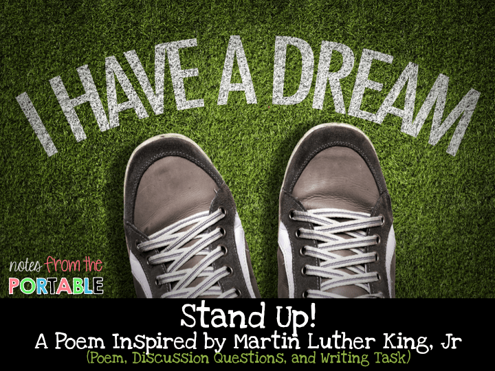 Stand Up! A Poem for Black History Month