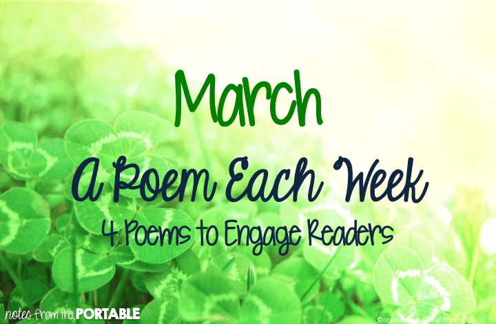 March A Poem Each Week