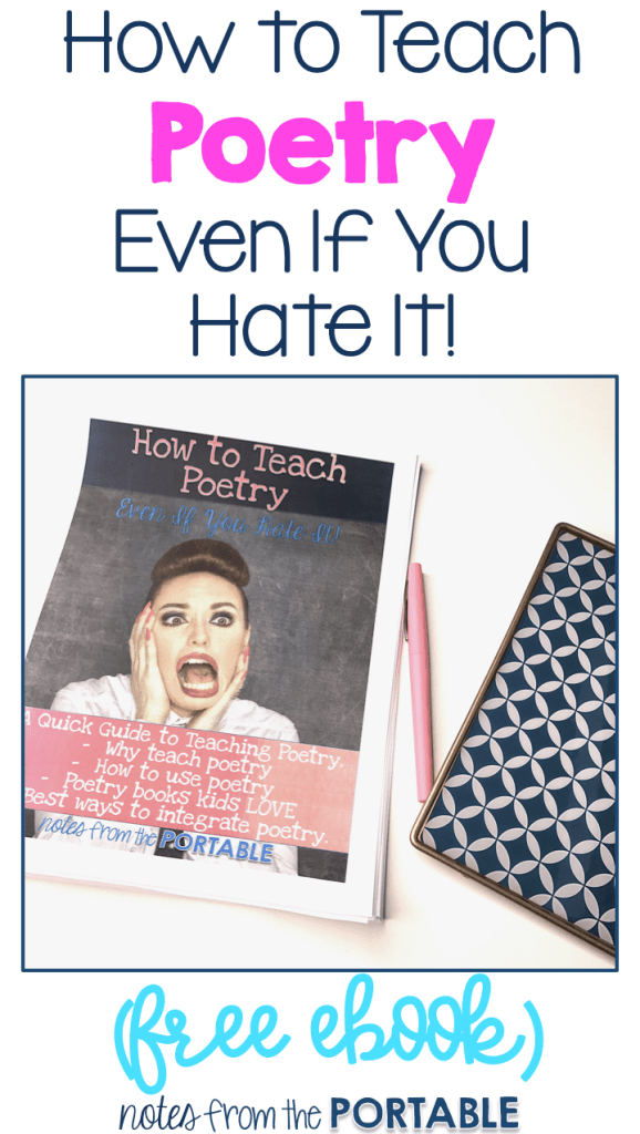 How to Teach Poetry (Even if you Hate it) FREE eBook