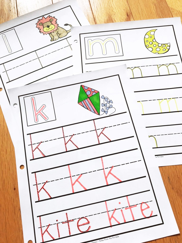 Looking for lowercase letter recognition strategies? Great ideas for preschool