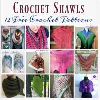 Crochet Shawls ~ 12 FREE Crochet Patterns | Jessie At Home