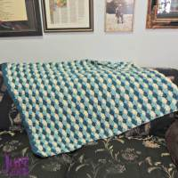Shell Stitch Baby Blanket | Jessie At Home