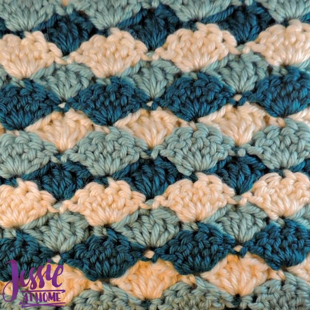 Crochet Baby Blanket Patterns Shells ~ Dancox for