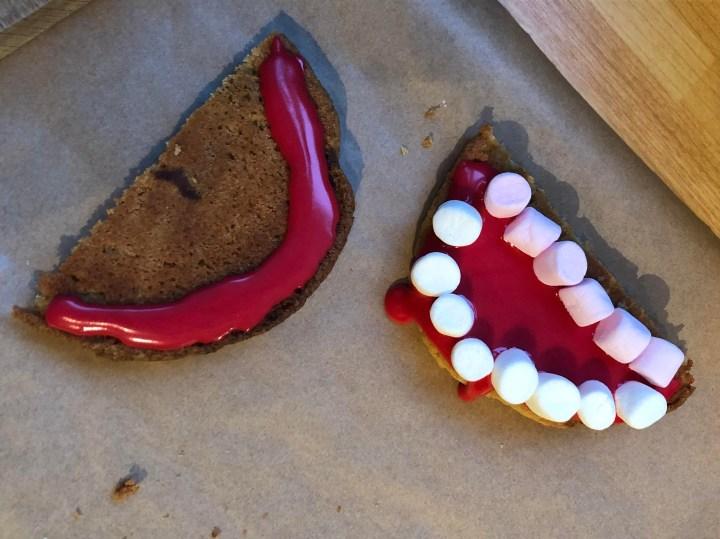 Vampire cookies step 2