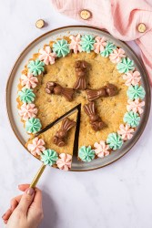 Easter Chocolate Cookie Cake