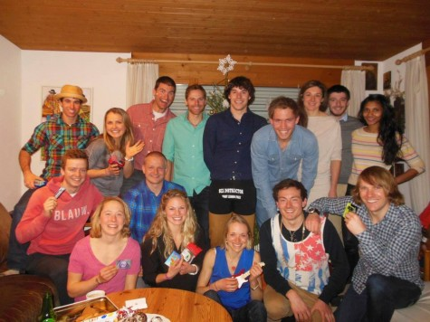 """""""Christmas orphans"""" gift party in Davos last year"""